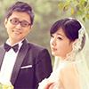 在网上看成都各家婚纱摄影网站,终于找到心仪的一家