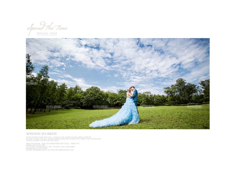 植物园婚纱照