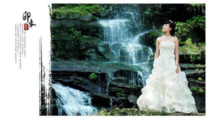天台山婚纱照