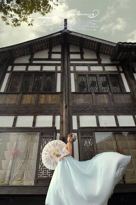 宽窄巷子婚纱照