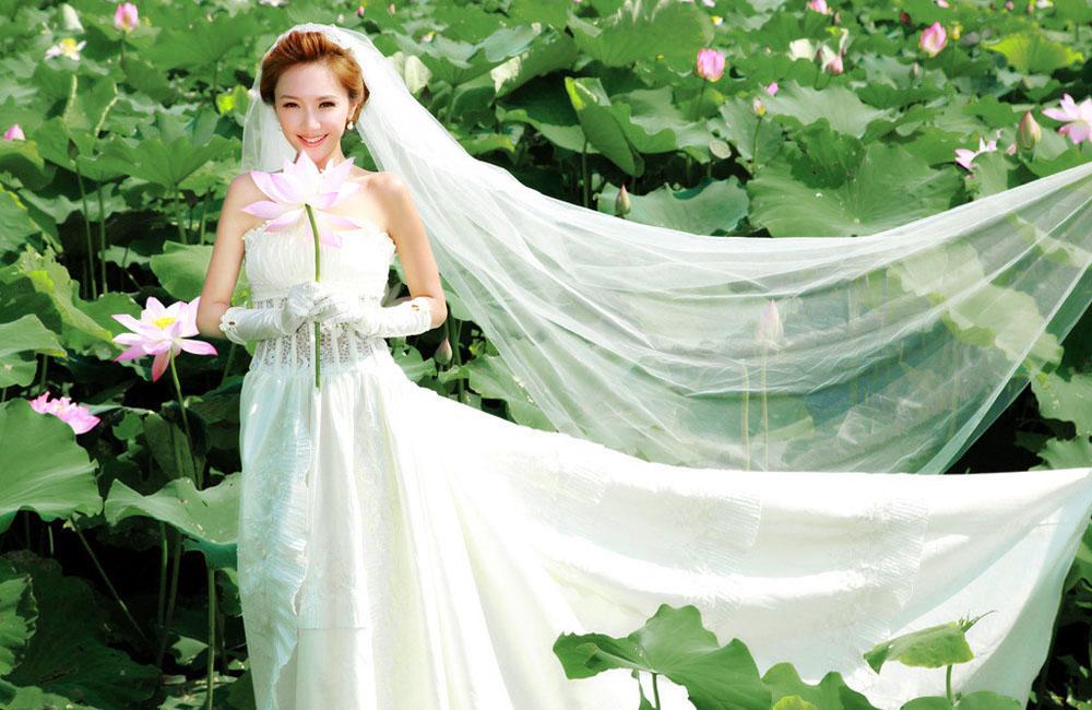 荷塘月色婚纱照