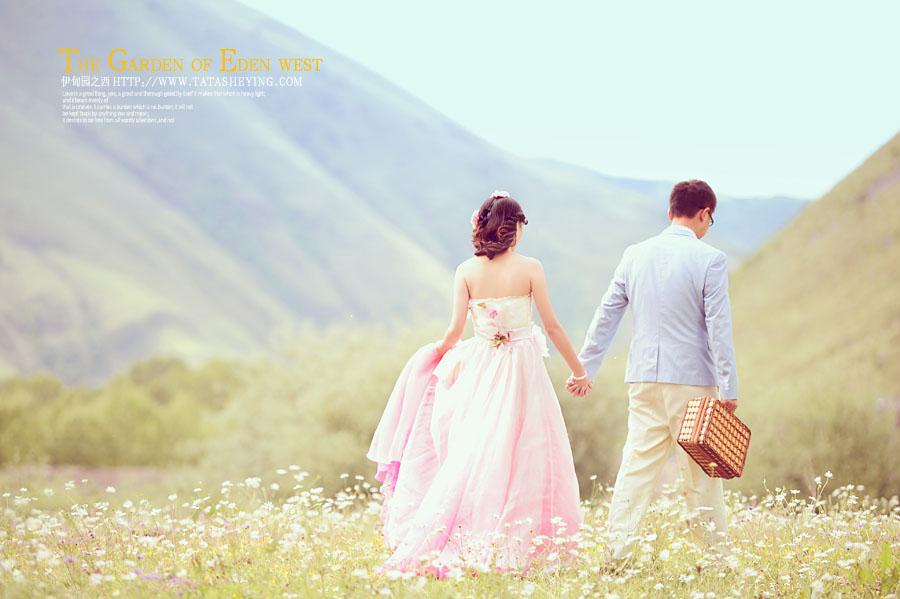 新都桥婚纱照