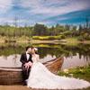 分享成都婚纱摄影工作室拍摄的婚纱照