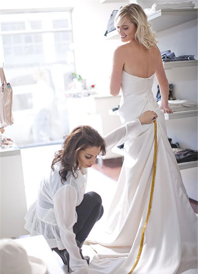 怀孕新娘婚纱怎么选?