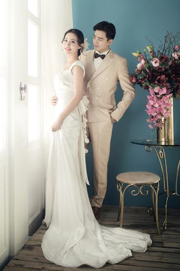 韩式婚纱照 - 微光清晨