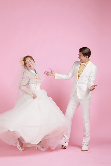 韩式婚纱照 - 俏新娘