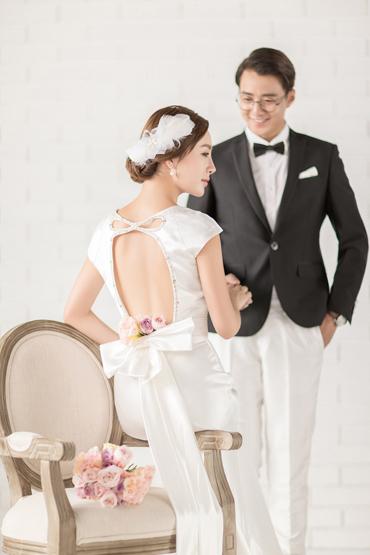 韩式婚纱照 - 素雅