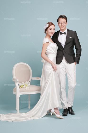韩式婚纱照 - 愉悦纯色