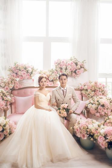 韩式婚纱照 - 粉红恋人