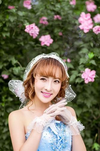 森系婚纱照