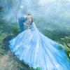 成都超仙森林系婚纱照  韩式内景  浪漫星空夜景