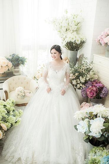 成都森系婚纱照工作室  成都韩式婚纱照工作室