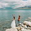 新疆旅拍婚纱照摄影工作室推荐   国内最大薰衣草基地 旅拍婚纱照  新疆婚纱照