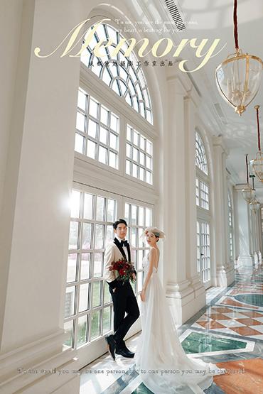 欧式宫廷婚纱照