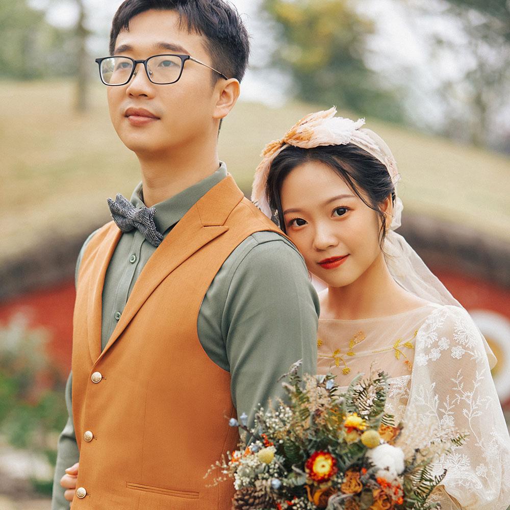 成都婚纱照客片分享丨把婚纱照拍成艺术品,是一种什么样的体验?